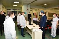 FUAT GÜREL - Vali Gürel, Hastaların Gözlem Altında Tutulacağı Bölümleri Gezdi