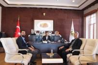 AK Parti Avanos İlçe Teşkilatı Yöneticileri, Süslü'yü Ziyaret Etti