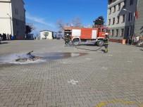 Çatalzeytin'deki Okulda Yangın Tatbikatı