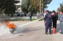 İtfaiyeden Yangın Eğitimleri Sürüyor