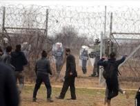 TRAKYA ÜNIVERSITESI - Yunan güvenlik güçleri düzensiz göçmenlere ateş açtı: 1 ölü, 5 yaralı