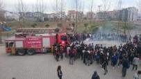 Lapseki'de Lise Öğrencilerine Yangın Eğitimi