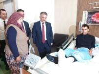 Vali Yazıcı, İdlib Gazisini Ziyaret Etti