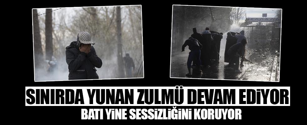 Yunanistan'dan mültecilere sert müdahale!