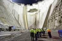Yusufeli Barajı Yükselmeye Devam Ediyor
