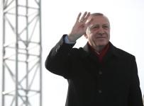 AÇILIŞ TÖRENİ - Cumhurbaşkanı Erdoğan müjdeyi verdi