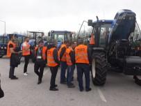 Beylikovalı Çiftçiler Traktör Fabrikasını Gezdi