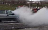 ÇOCUK HASTALIKLARI - Bingöl'de Araç Yangını