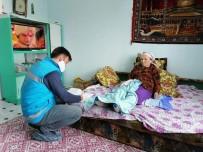 ADEM ÖZTÜRK - Bolvadin'deki Yaşlıların Emekli Maaşları Evlerinde Ödeniyor