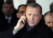 RUSYA FEDERASYONU - Cumhurbaşkanı Erdoğan, Putin'le Telefonla Görüştü