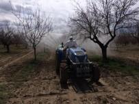 ATALAN - Dışarı Çıkamayan Yaşlı Şahsın Kayısı Bahçesini Ekipler İlaçladı