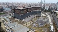 AMELİYATHANE - İnşaatında Sona Gelinen Göztepe Şehir Hastanesi Havadan Görüntülendi