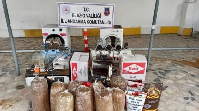 Kaçak Sigara İmalathanesine Baskın Açıklaması 2 Gözaltı