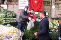 ESNAF ODASı BAŞKANı - Malatya'da Pazar Yerlerinde Ek Tedbirler