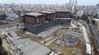 AMELİYATHANE - (Özel) İnşaatında Sona Gelinen Göztepe Şehir Hastanesi Havadan Görüntülendi