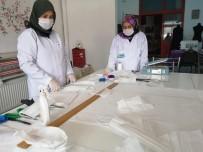 Sındırgı Belediyesi Kendi Maskesini Üretiyor