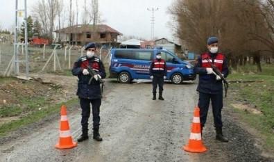 Uşak'ta 1 Köy Karantinaya Alındı