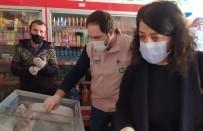 Alaçam'da Gıda İşletmelerine Etiket Ve Hijyen Denetimi