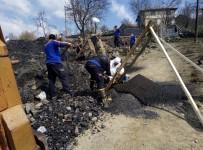 AFAD Ekipleri Yanan Evin Enkazında Cenaze Aradı