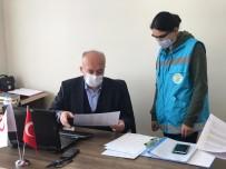 Dursunbey'de Sokağa Çıkamayan Vatandaşların İmdadına Vefa Ekipleri Yetişiyor