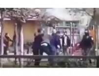 ARBEDE - 'Evlerinize dönün' uyarısına uymadılar... Polise saldırdılar