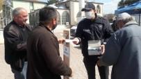 Daday'da Jandarma Ve Polis Ekipleri, Vatandaşlara Maske Dağıttı