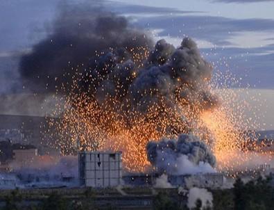 Afrin'de patlama! Can kaybı var