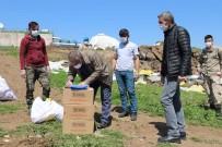 Karantinaya Alınan Köye Gıda Yardımları Ulaştırıldı