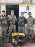 Mehmetçik'ten Başkan Bahçavan'a Jeneratör Teşekkürü