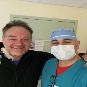 Covid-19 hastası deneysel tedaviyle hayata tutundu
