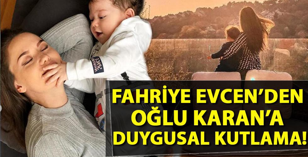 Fahriye Evcen'den oğluna doğum günü mesajı