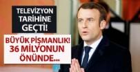 DÜNYA KUPASı - Fransa Cumhubaşkanı Macron'un büyük pişmanlığı