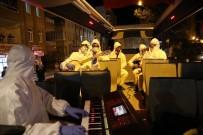 Mardin'de Dezenfekte Çalışmaları Aralıksız Sürüyor