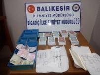 Bigadiç'te Kumarbazlara Polis Baskını
