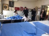 Ezine SODAM'da Maske Üretimi Başladı