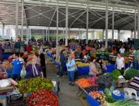 PAZARCI - Hafta sonu kurulan pazarlar için yeni karar
