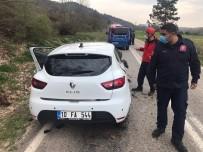 Sındırgı'da Trafik Kazası 3 Yaralı
