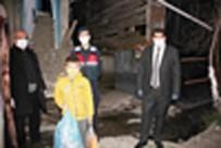 Evden Çıkamayan Çocuk, 'Yasal Hakkım' Diyerek Jandarmadan Cips İstedi
