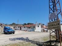 Çanakkale'de Bir Köye Giriş Ve Çıkışlar Kapatıldı