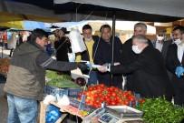PAZAR ESNAFI - Başkan Demirtaş'tan Pazar Esnafına Tıbbi Maske Ve Eldiven