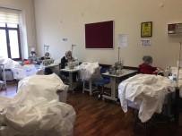 ALI YıLDıZ - Beyoğlu'nda Sağlık Çalışanları İçin Hijyen Tulumu Üretimine Başlandı