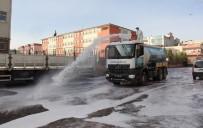 MEHMET POLAT - Eyyübiye'de Temizlik Çalışmaları Aralıksız Sürüyor