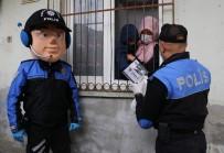 OTIZM - Maskot Polis Otizmli Halil'i Sevindirdi
