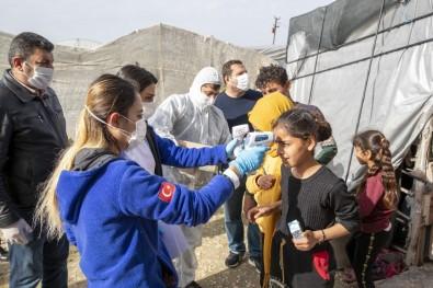 Mersin'de 800 Tarım İşçisinin Ateş Ölçümü Ve Genel Sağlık Taraması Yapıldı