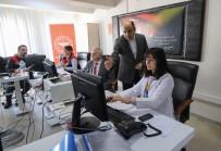 İLETİŞİM MERKEZİ - Samsun'da 'Kovid-19' İle Mücadele 7/24 Bu Merkezden Yönetiliyor