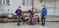 70'Lik Nineden Örnek Davranış Bağış Olarak 350 Kilo Nohut Verdi