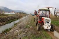İnönü Belediyesi Sinek Ve Haşere İle Mücadele Kapsamında Larva İlaçlaması Yaptı