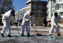 Kestel'de Dezenfekte Çalışmalarında 12'İnci Tur