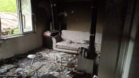 Sobadan Çıkan Yangında Ev Kullanılamaz Hale Geldi