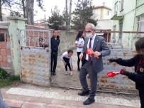Evlerinden Çıkamayan 23 Nisan Çocuklarına Başkan Altıkulaç'tan Sürpriz